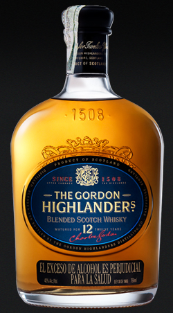 Whisky The Gordon Highlanders